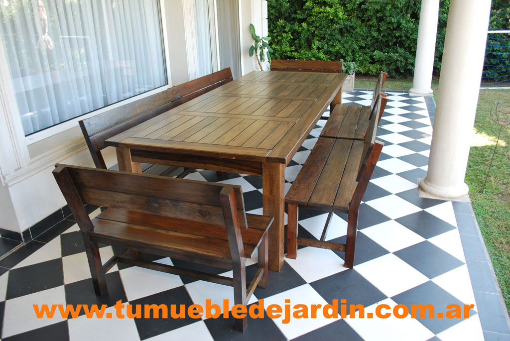 Awesome muebles de jardin zona norte images for Muebles de jardin de madera